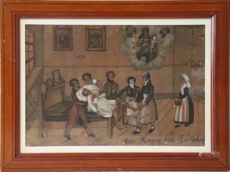 Ecole Allemande vers 1823