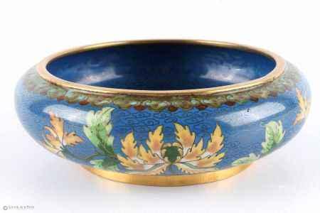 Cloisonné Schale, China bowl,