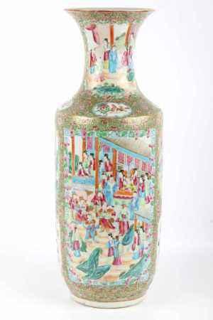 Bodenvase Familie Rose, China 1. Hälfte 20. Jahrhundert, floor vase,