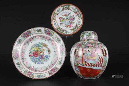 3-teilige Sammlung, China Lot,