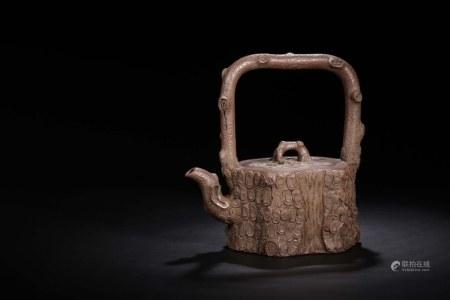 """Qing Chinese Yixing Zisha Teapot,""""Wu Yuting"""""""