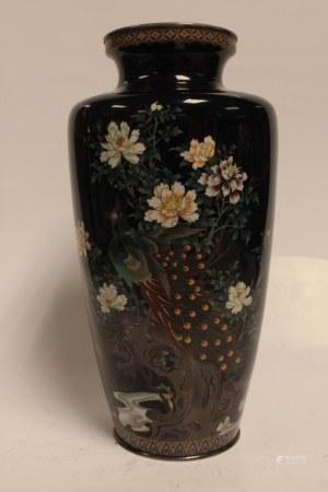 Fine Japanese Cloisonne Vase