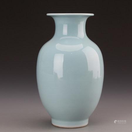 Chinese Glazed Porcelain Vase,Mark