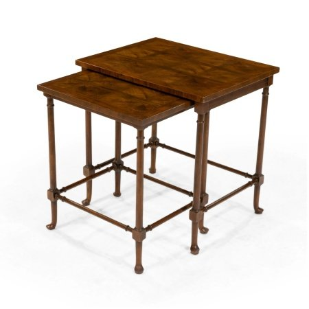 Baker - Marquetry Nesting Tables