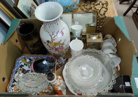 A selection of decorative china; etc.