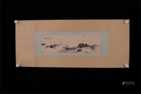A Chinese Painting, Wu Hufan Mark
