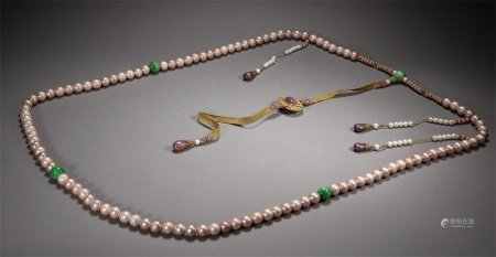 A Set of Chinese Pearl Chaozhu