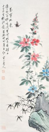 陳半丁 花卉
