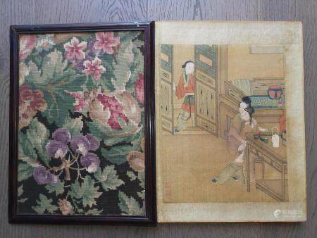 QING DYNASTY CHINESE PAINTING ALBUM