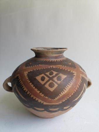A PAINTED NEOLITHIC JAR NEOLITHIC AGE