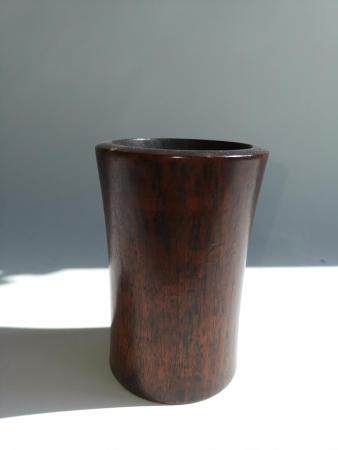 MING/QING DYNASTY CHINESE HUANGHUALI BRUSHPOT