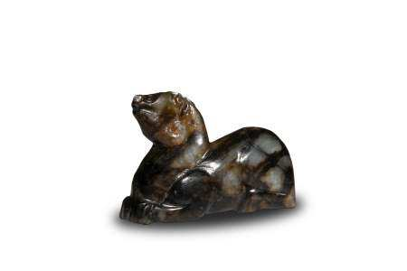 Chinese Jade Carved Beast Toggle, Ming