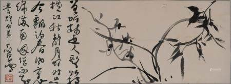 Chinese Painting of Orchids by Ding Yanyong