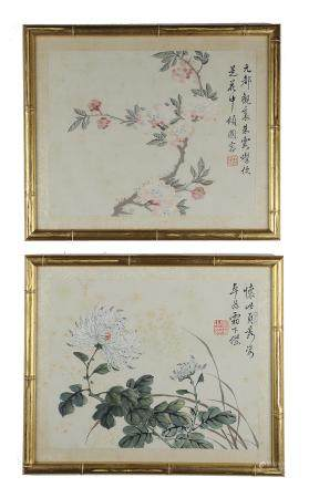 Two Unsigned Chinese Album Paintings