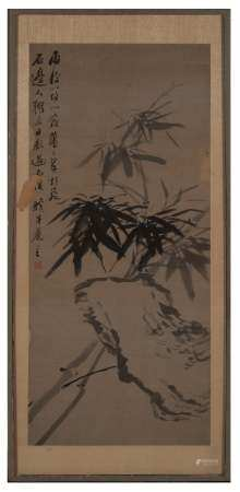 Chinese Painting of Bamboo by Jin Xinlan