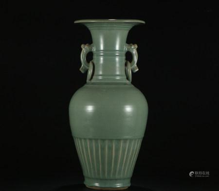 Song dynasty Long quan kiln bottle
