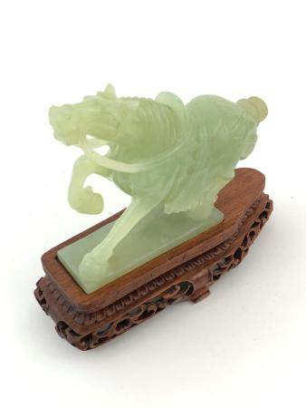 Hand Carved Chinese Jade Horse