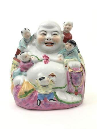 Porcelain Budha