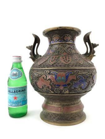 Posibly 19 century Chinese Cloisonne Vase