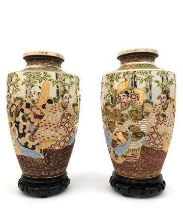 Japanese Porcelain Vases