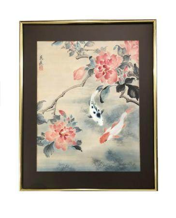 Chinese Watercolor. Mystery Artist. Signed.