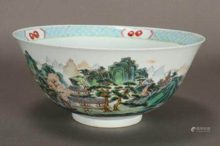 Good Chinese Qing Dynasty Porcelain Bowl,