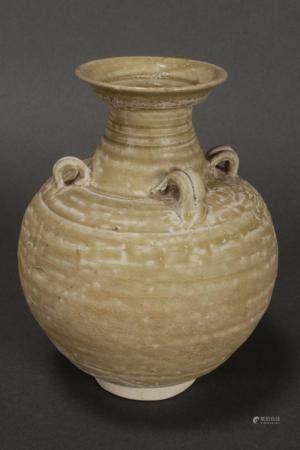 Chinese Tang Dynasty (618-907) Bottle Vase,