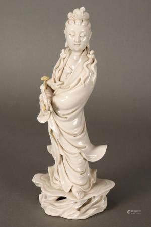 Chinese Qing Dynasty Dehua Figure of