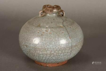 Sawankhalok 14th/15th Century Celadon Jar,