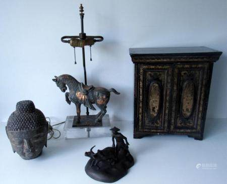 Grouping Of Asian Antique Items.