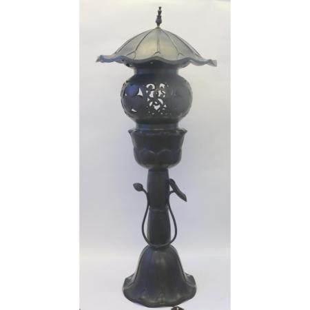 Antique Meiji Bronze Japanese Lantern