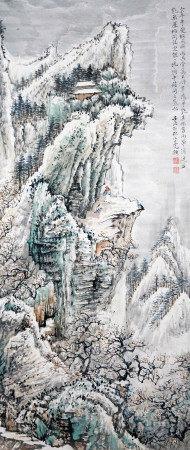 陸小曼 山水