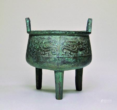 十八-十九世紀 仿古銅鼎