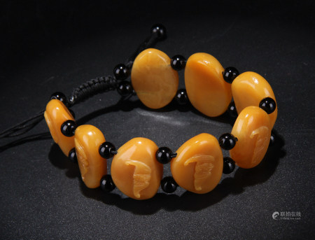 A Chinese Tianhuang Bracelet