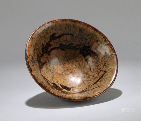 A CHINESE JIZHOU TYPE  BOWL, MING OR EARLIER