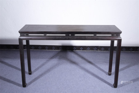A Chinese Carved Hardwood Table
