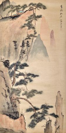 天齡老人 黃海松石