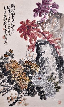 趙雲壑 斑斕秋色