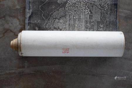 GUO Zhongshu (910 977) (d'après par Shen Guohua (époque Ming)) + Han Zan (Epoque Ming)
