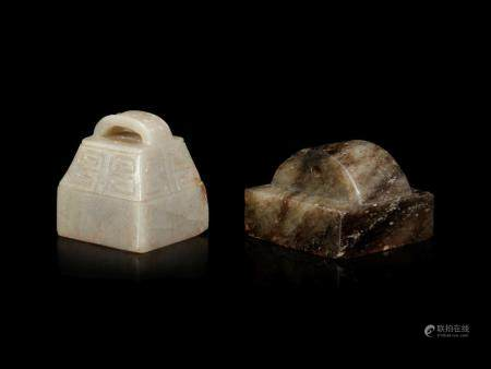 Two Jade Square Seals