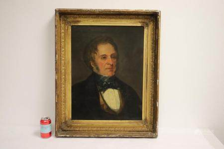 An 18th/19th c. oil on canvas painting