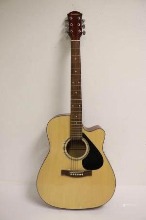 An Avalon acoustic guitar