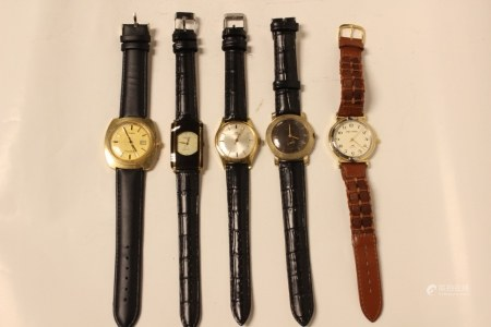 Group of 5 Vintage Watches