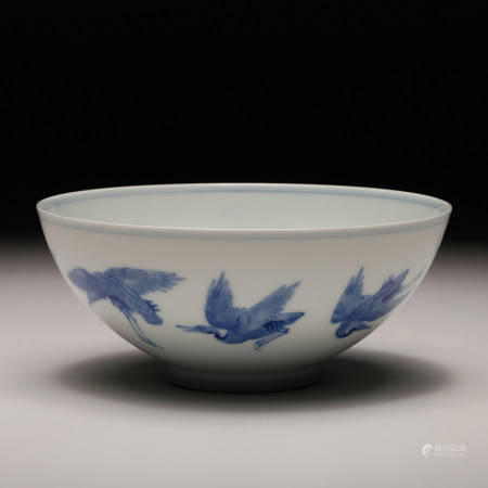 A Chinese Blue White Porcelain Bowl