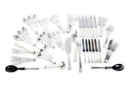 800 silver cutlery set for six