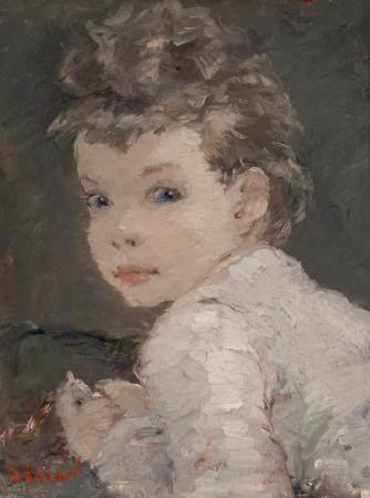 Dietz Edzard German/French, 1893-1963 Portrait of Christine