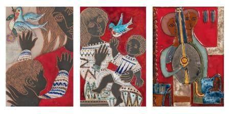 Irene Awret German/Israeli, 1921-2014 Three works