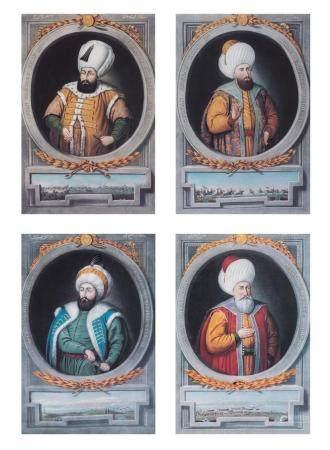 Artist Unknown [OTTOMAN EMPEROR IMAGES] Four color photorepr