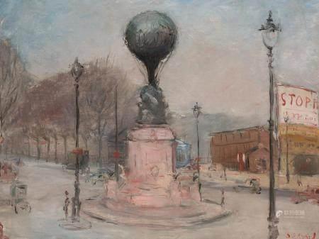 Dietz Edzard German/French, 1893-1963 Monument des Aeronaute