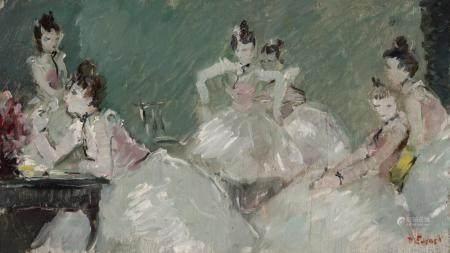 Dietz Edzard German/French, 1893-1963 Etude Pour Danseuses d